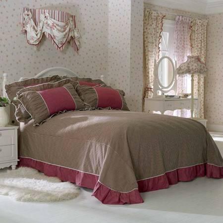 床上用品被枕套韩版蝴蝶结床单式四件套1