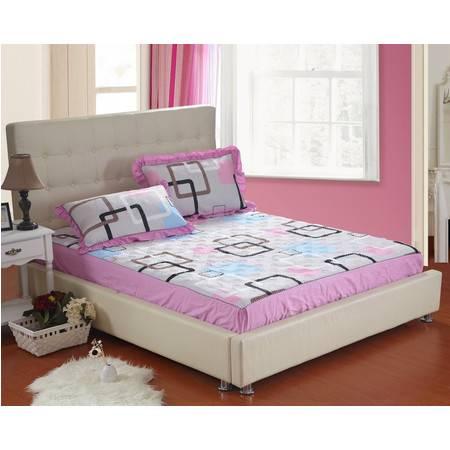 优里卡床上用品被枕套全棉夹棉绗缝床笠单品4