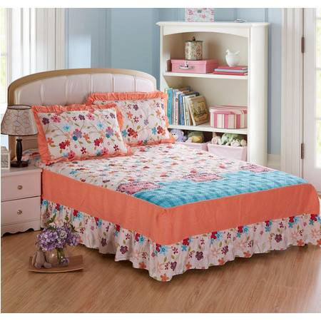 床上用品被枕套夹棉绗缝床裙 单品4