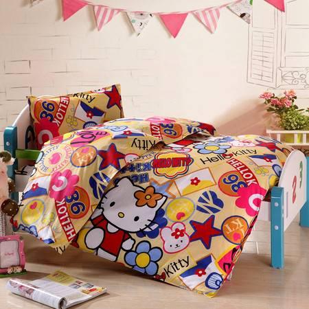 床上用品被枕套幼儿园三件套 也可以随意组合搭配