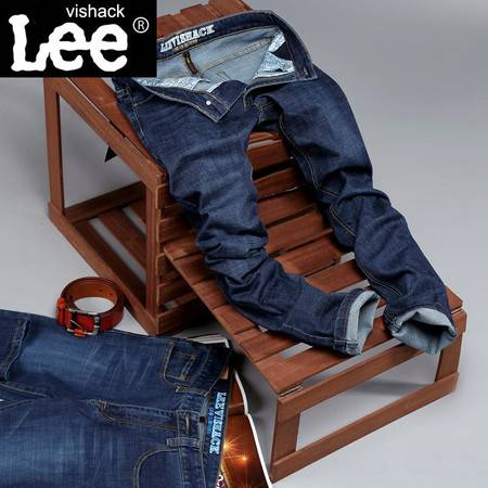 牛仔裤品牌男装牛仔长裤子春季新款直筒修身弹力款裤子