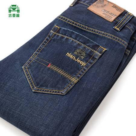 春季男士牛仔裤牛仔长裤修身直筒男裤子新款潮
