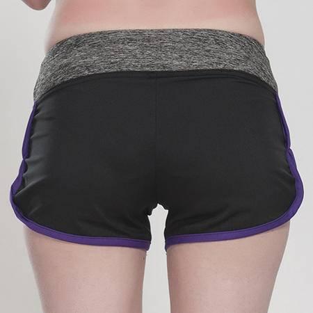 韩版新款 户外训练 瑜伽健身 运动 速干透气跑步短裤
