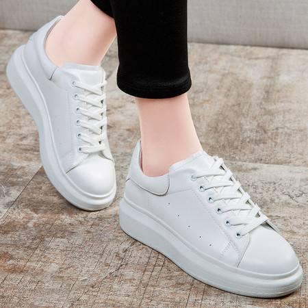 帆布鞋女运动休闲平底鞋韩版学生板鞋小白鞋单鞋女鞋
