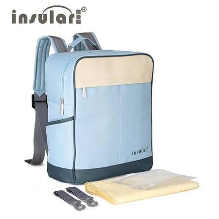 新款多功能防水双肩妈咪包大容量母婴外出双肩背包批发