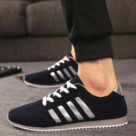 春夏季新款男鞋 韩版潮男运动鞋透气男士休闲鞋网面男板鞋子