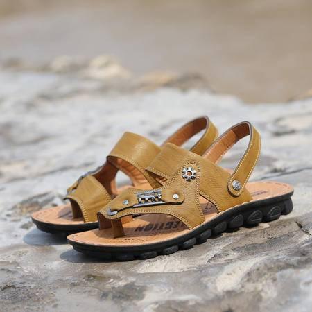 夏季男士凉鞋沙滩鞋男 透气休闲凉鞋夏新品新款凉拖男鞋