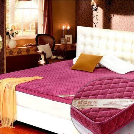 床上用品被枕套 珊瑚绒立体折叠床垫 加厚海绵榻榻米单人双人学生宿舍床垫