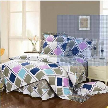 床上用品被枕套正品全棉床裙款四件套大号