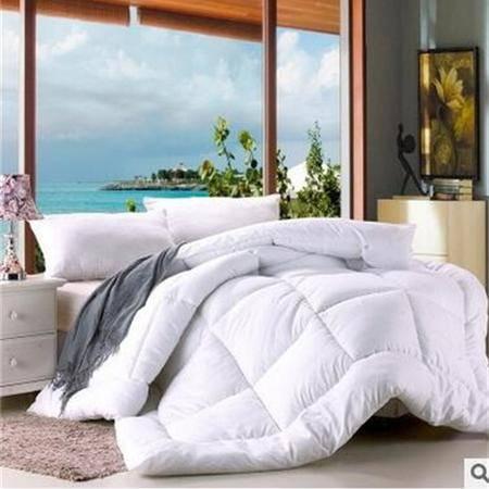 床上用品被枕套磨毛压花冬被纯色保暖冬季被芯子母被子磨毛