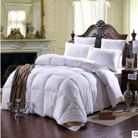 床上用品被枕套天鹅湖羽绒被鸭绒被芯冬季被子保暖加厚被
