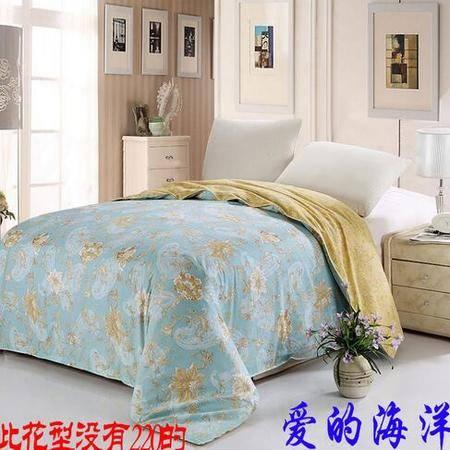 床上用品被枕套100%全棉印花单被套 单双人纯棉被套