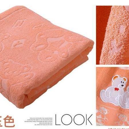床上用品被枕套绣熊毛巾被/纯棉毛巾被儿童被/夏凉被/空调被