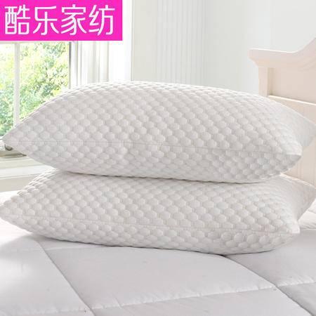 床上用品被枕套高档泡泡绒高弹羽丝绒枕头 床上用舒适透气吸湿按摩枕芯