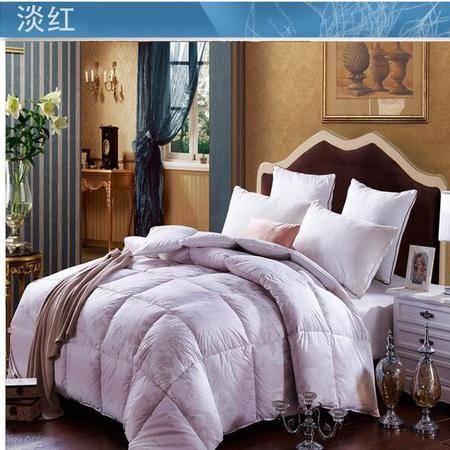 床上用品被枕套棉羽绒被纯棉被子冬季保暖冬被芯单双人