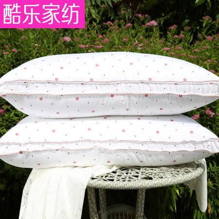 床上用品被枕套护颈枕羽绒枕家用单人舒适羽绒枕婚庆羽绒枕