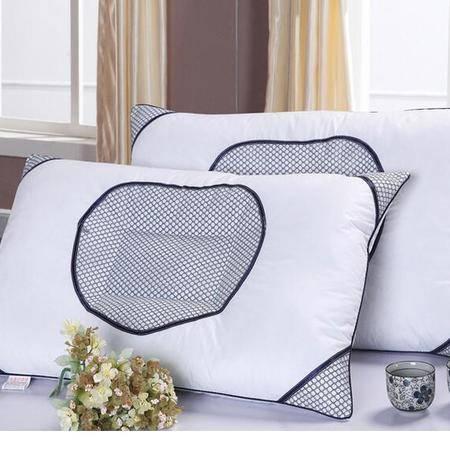 床上用品被枕套 爱心网布药包枕芯 透气枕 单人枕头保健枕 护颈枕