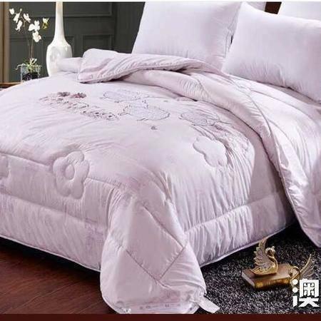 床上用品被枕套澳洲羊羔绒冬被100%澳洲纯暖丝棉加厚羊毛被加厚冬被