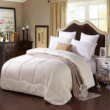 床上用品被枕套加厚被子精品羊毛被子羊绒被单双人秋冬被保暖被
