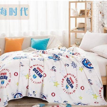 床上用品被枕套针织棉夏被纯棉夏凉被空调被透气舒适薄被子