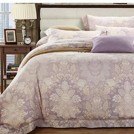 床上用品被枕套  春夏极爽80S支超柔100%双面纯天丝四件套床单式床上用品