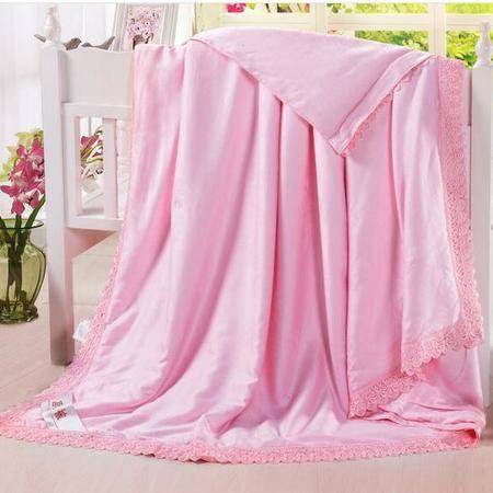 床上用品被枕套     莫代尔蚕丝夏被透气舒适空调被双人薄被子夏凉被子