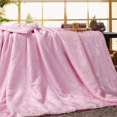 床上用品被枕套     竹纤维夏被高档舒适透气防潮贴身夏凉被空调被子