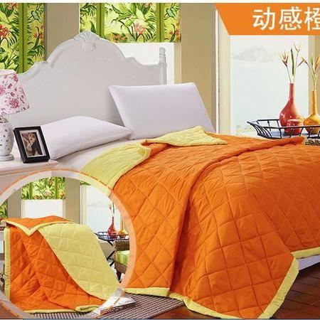 床上用品被枕套     双拼润肤夏被 柔软舒适夏凉被空调被单人双人儿童薄被子