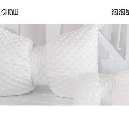 床上用品被枕套    斑糖果纯色纯棉泡泡绒马豹纹蝴蝶结汽车抱枕靠垫头枕