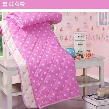 床上用品被枕套  波点双拼夏凉被 单双人夏凉被空调被单双人学生儿童薄被