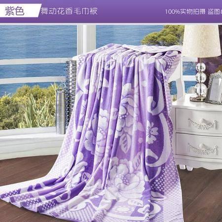 床上用品被枕套  新款全棉毛巾被加厚纯棉毛巾毯毛毯提花天然棉