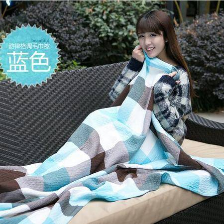 床上用品被枕套 夏季毛巾被纯棉纱布毛巾毯子午睡毯夏凉被空调被盖毯