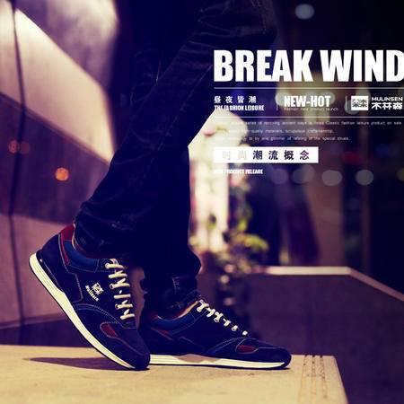 男鞋跑步鞋男士休闲鞋运动鞋男春季韩版潮鞋低帮学生鞋子男