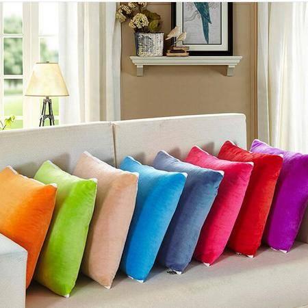 床上用品被枕套    水晶绒抱枕被 多功能抱枕被子靠垫空调被大号枕头被