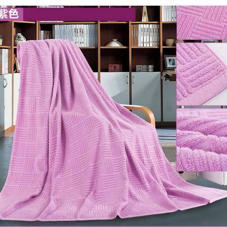 床上用品被枕套   春夏新款网销热卖时尚纯棉提花爱情迷宫毛巾被
