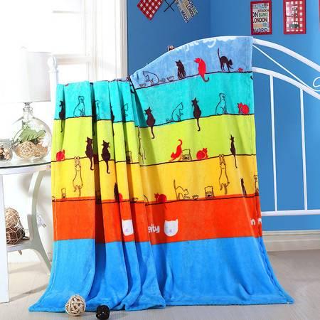 200g法莱绒毛毯