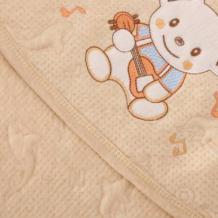 纯棉新生儿抱被夏季薄款彩棉婴儿包被包巾有机棉初生宝宝抱毯