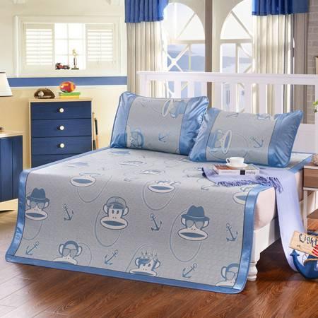 家纺 床品新款提花冰丝席4个尺寸