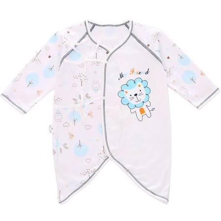 初生婴儿爬服精梳棉 婴儿服装 宝宝蝴蝶衣 新生儿连体衣