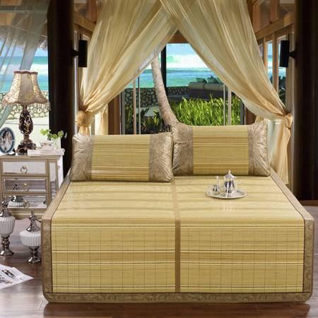 家纺 清幽翠谷 竹席三件套 可单买枕套
