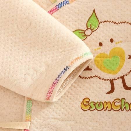 婴儿内衣纯棉套装秋冬装保暖加厚宝宝彩棉秋衣秋裤儿童新生儿衣服