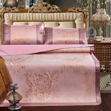 家纺 床品新款尊贵提花冰丝席2个尺寸