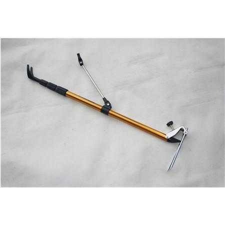 三星1.7米钛合金支架伸缩鱼竿支架架竿4节钓鱼竿渔具垂钓用品