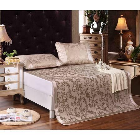 家纺 床品新款提花冰丝席 丝路花语5个尺寸