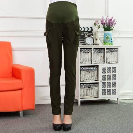 时尚孕妇装韩版孕妇裤 秋季纯棉大码孕妇裤长裤 新款秋冬孕妇裤子