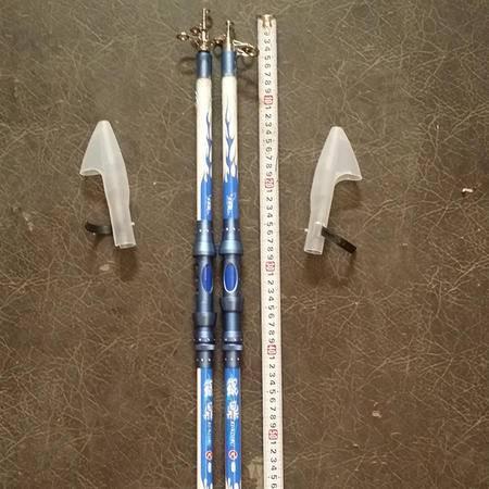 纯碳素海竿金属把鱼竿2.4米垂钓用品