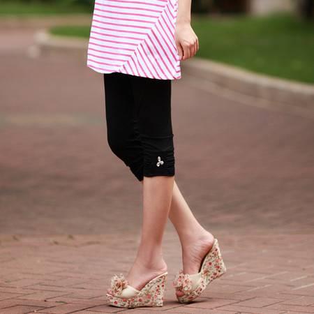 可调节韩版新款孕妇装 孕妇打底裤夏薄 夏装孕妇裤孕妇七分裤