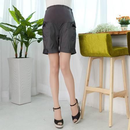 韩版孕妇裤时尚夏季怀孕托腹裤孕妇装夏装新款纯棉热裤