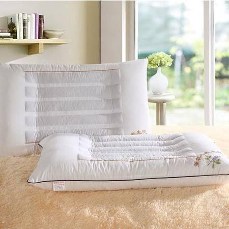 床上用品被枕套新款薰衣草安神舒睡枕头 护颈纤维枕芯养生