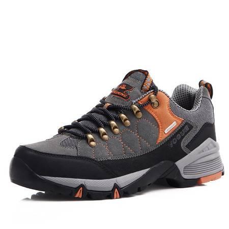 冬新款男鞋防水保暖户外鞋 耐磨登山鞋徒步鞋